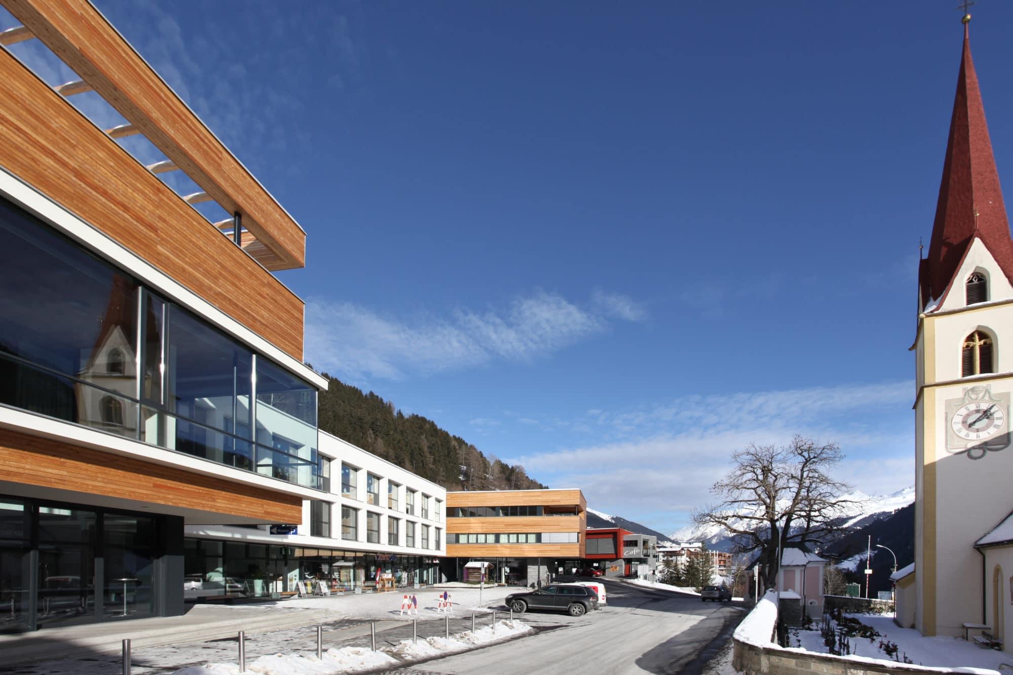 Dorfzentrum Kappl – Bauleitung