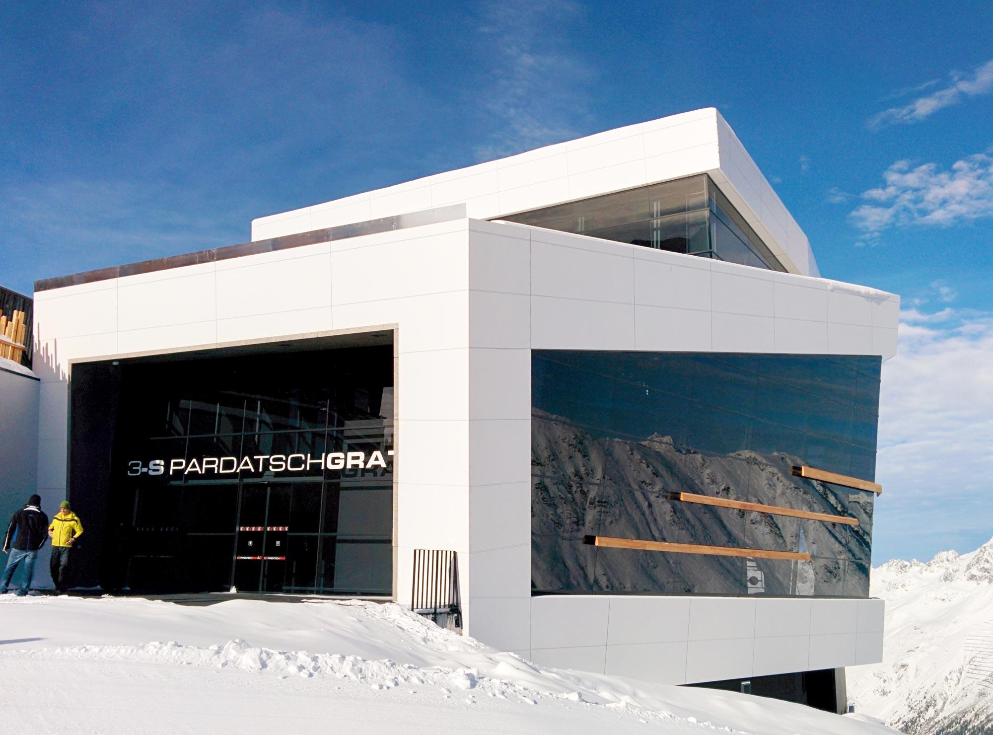 3S Pardatschgratbahn Bergstation